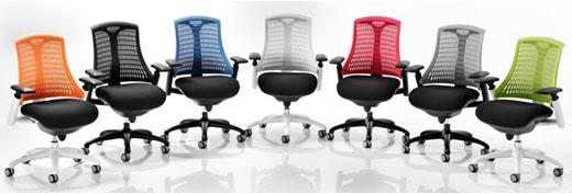 Citro Flex Heavy Duty contemporary ergonomic Office Chair with flexible backrest