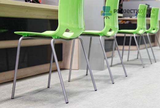 Fano Contemporary plastic Cafe Bistro Chairs