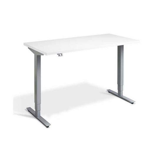 RISE 2 Dual Motor Rectangular Electric Sit Stand Height Adjustable Desk, 1200mm