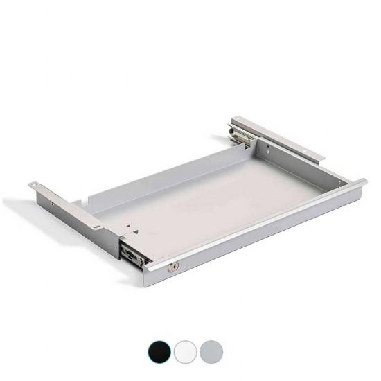 LAGRA lockable under-desk storage drawer for Rise desks