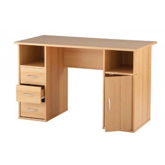 Maryland Computer Desk/ Workstation in Beech, White or Walnut