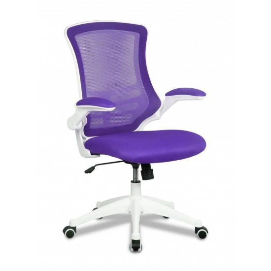 ARIA Mesh High Back Ergonomic Office Chair with Foldaway Arms