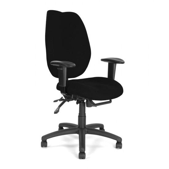 DURHAM Full Back Ergonomic Multi-Function Office Operator Chair