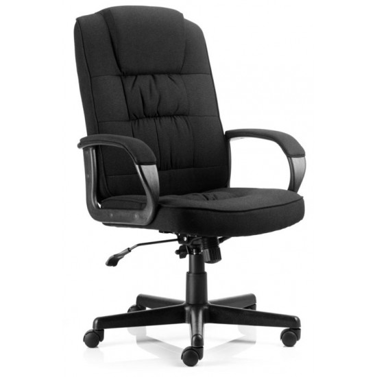 COMFORT FABRIC Heavy Duty Fabric Executive Office Chair