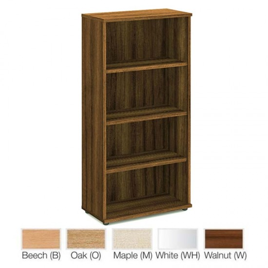 PACIFIC 1600mm High 3 Shelf Wooden Bookcase