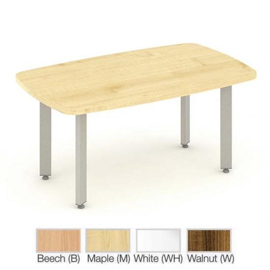 PACIFIC 1200mm Rectangular Coffee Table, White, Walnut, Maple, Beech, Oak
