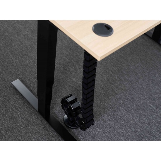 Profile Cable Management Spine for Rise Electric Height Adjustable Desk