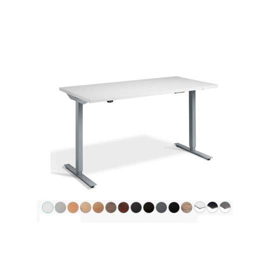 RISE 1 Electric Sit Stand Desk. Dual Motor Height Adjustable Desk, 1200x800mm