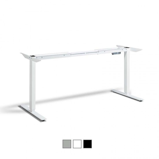 RISE 1 - FRAME ONLY - Dual Motor Electric Height Adjustable Desk