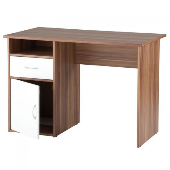 HASTINGS Contemporary Walnut Computer/ Laptop Desk