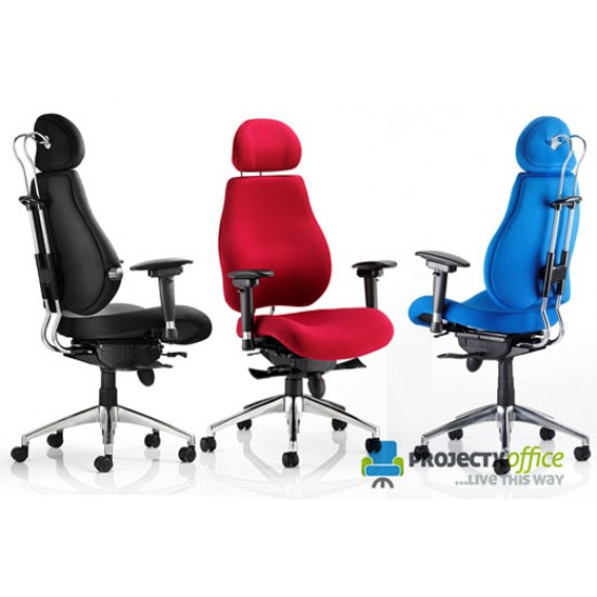 ERGO-MODE ULTIMATE 24 Hour Multi Function Ergonomic Office Chair, COLOUR SEAT