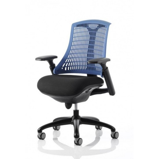 CITRO -Contemporary Ergonomic Office Chair with BLUE Backrest