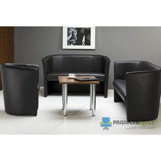 CLUB DOU Classic Leather Tub Sofa in Various Leather Colours