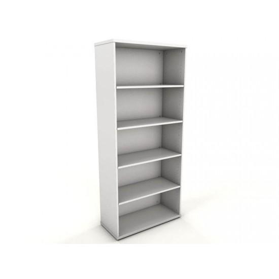 ENGLEWOOD White 1.8m Tall Storage Bookcase