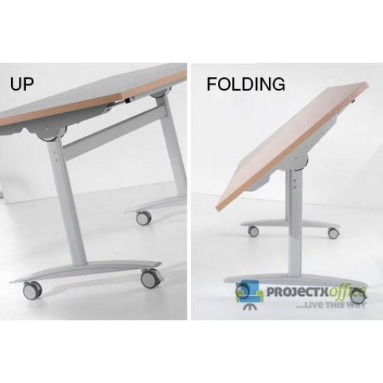 FLIPTOP Modular Rectangular Folding Conference Tables 1600x800mm