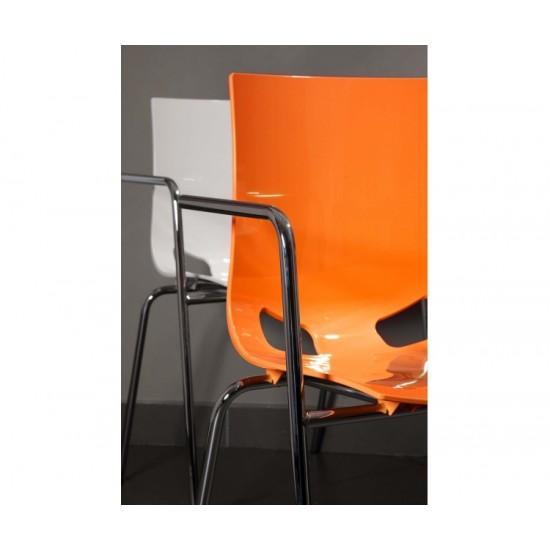 FONDO Modern Cafe Bistro Chair in Bright Colours