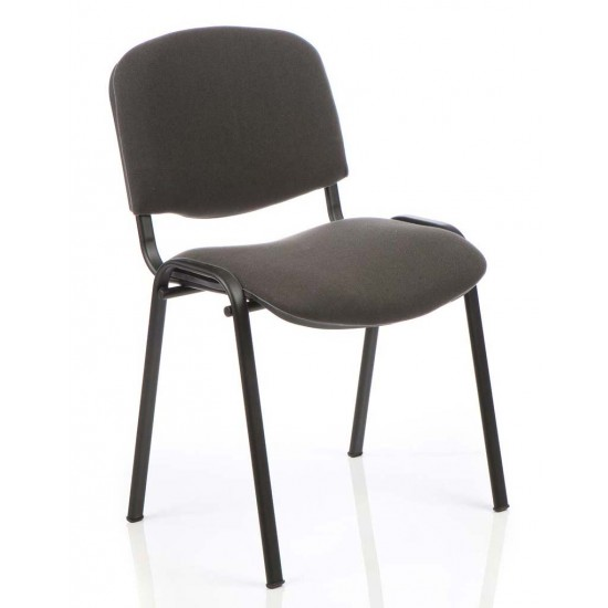 ISO BLACK FRAME Stackable Conference Meeting Room Chairs