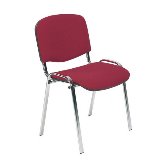 ISO CHROME FRAME Stackable Conference Meeting Room Chairs