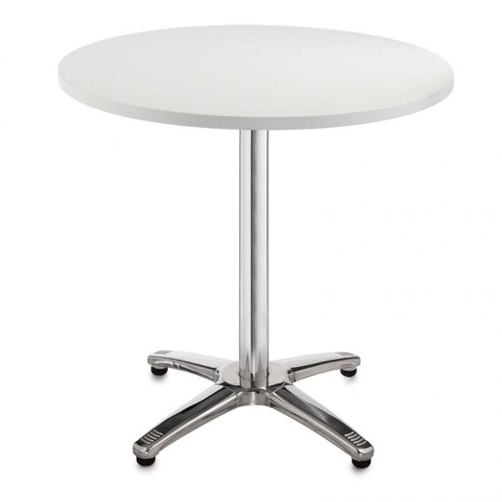 MILANO Round Cafe Bistro Tables in Beech White Walnut