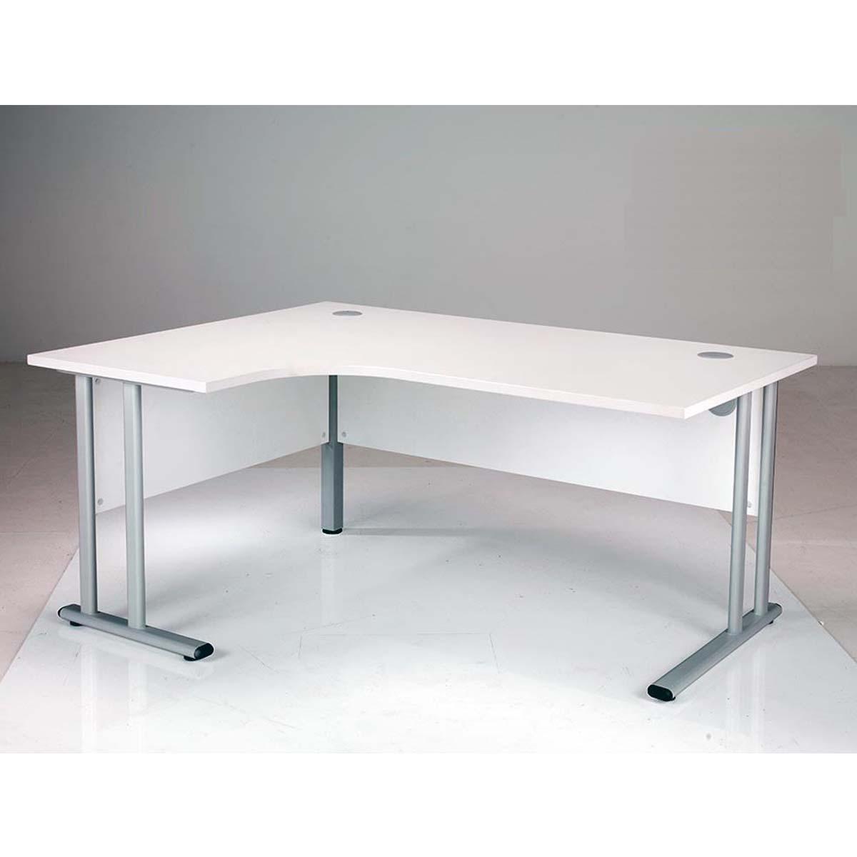 Image of: Oslo Modern White Left Hand Corner Office Desks