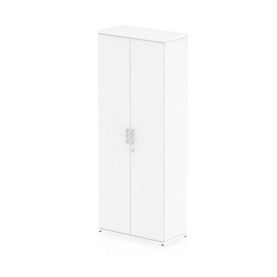 PACIFIC 2000mm High Lockable Office Storage Cupboard with 4 Shelves