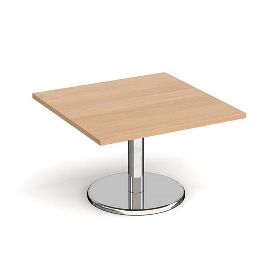PESCARA Square Coffee Tables in Beech, White, Walnut