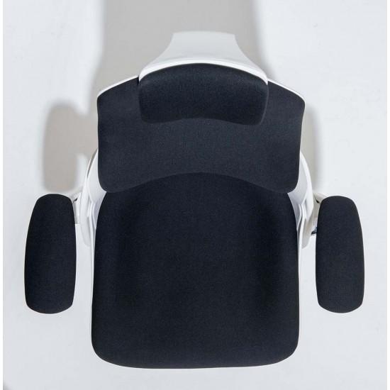 STORM-MK2 Designer Black Fabric Ergonomic Office Chair