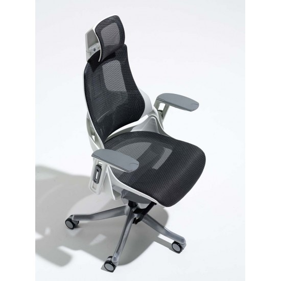 STORM-MK2 Designer Dark Grey Mesh Ergonomic Office Chair