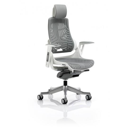 STORM-MK2 Designer Grey Elastane Ergonomic Office Chair
