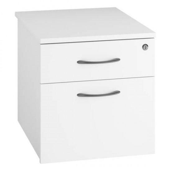 URBAN 2 Drawer Under Desk Mobile Storage Pedestal