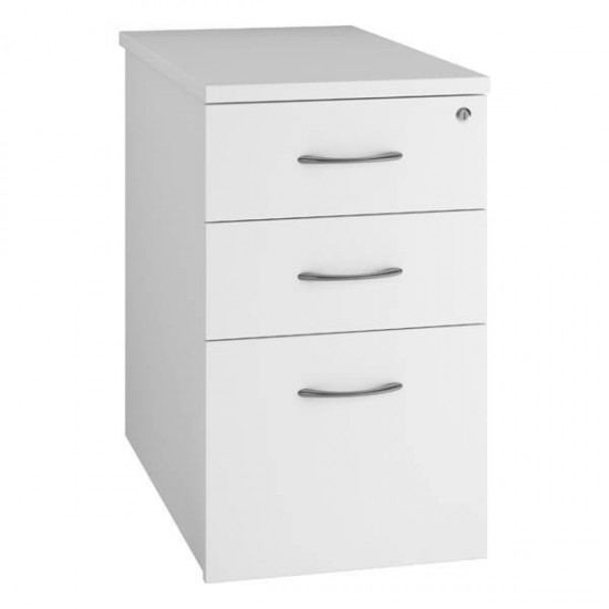URBAN 3 Drawer Desk High Office Storage Pedestal